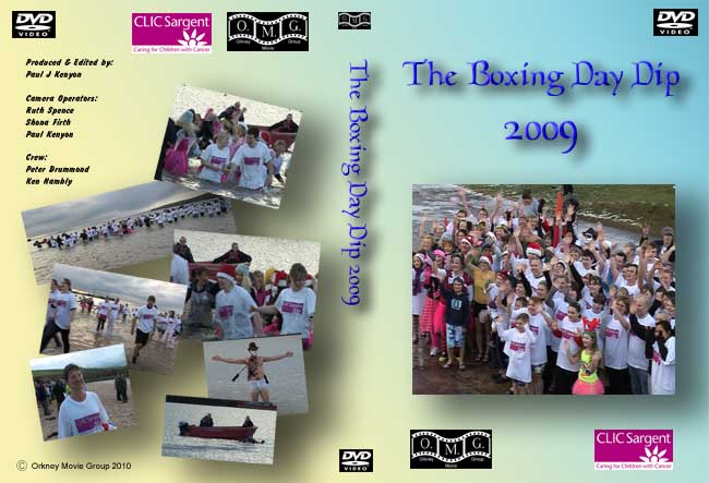 Boxing Day Dip Dip 2009 DVD Cover